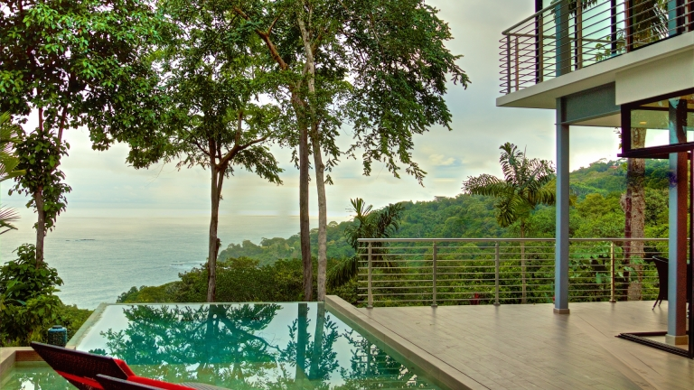 Pool and Ocean View Villa 6 Terraces at San Martin