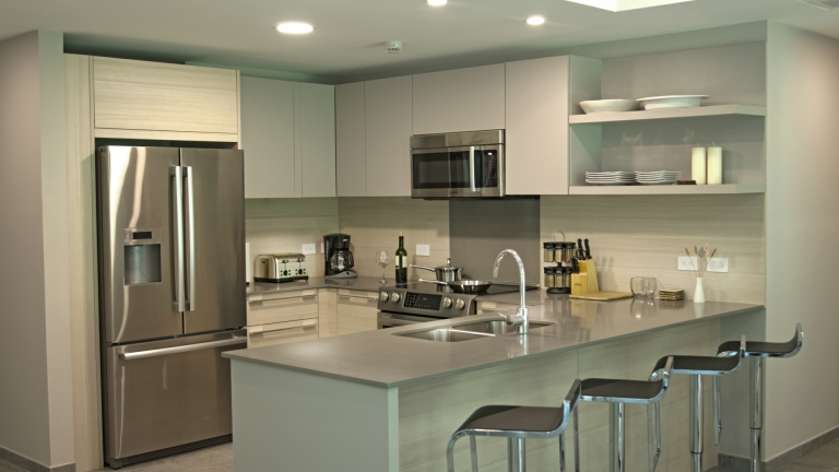 Kitchen Unit 4F Elan at Ballena Beach