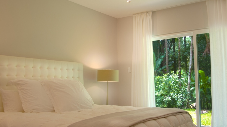 Master Bedroom Unit 4F Elan at Ballena Beach