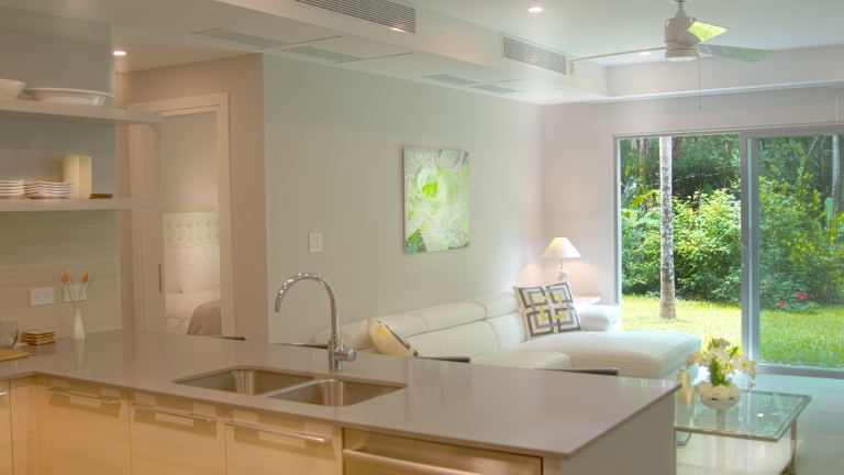 Kitchen / Living Room Unit 4F Elan at Ballena Beach