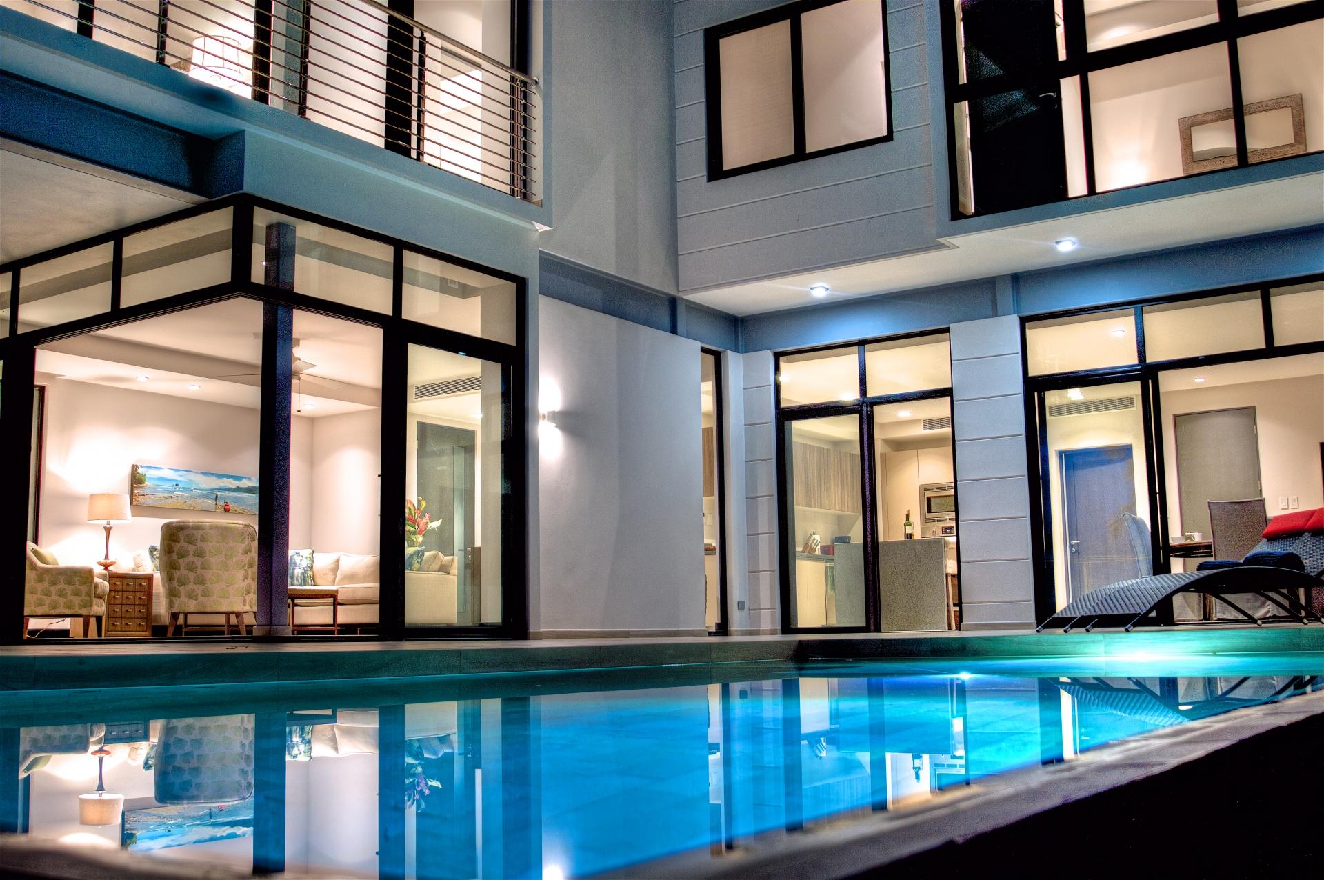 real estate costa rica villa pool
