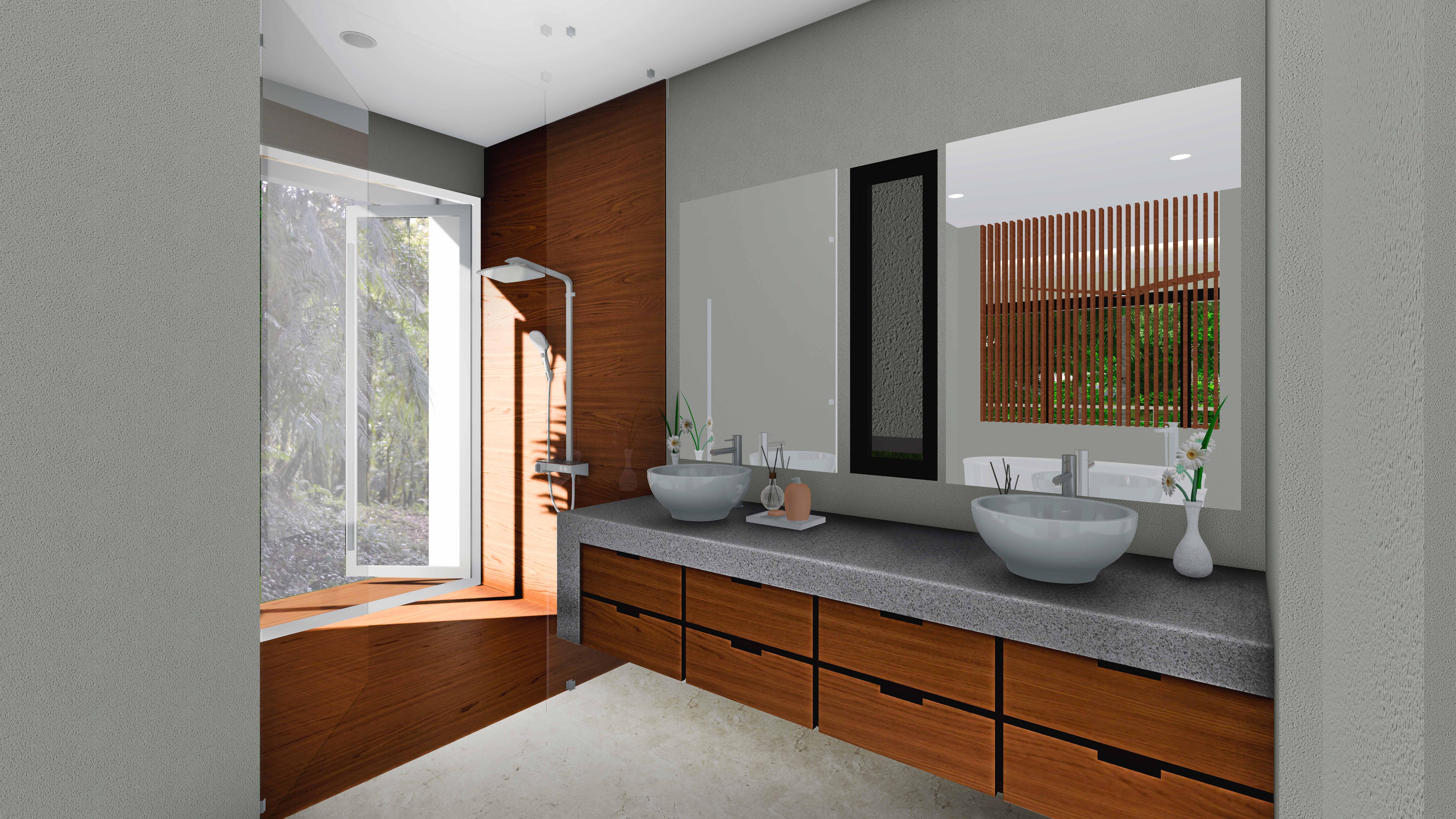 uvita house bathroom