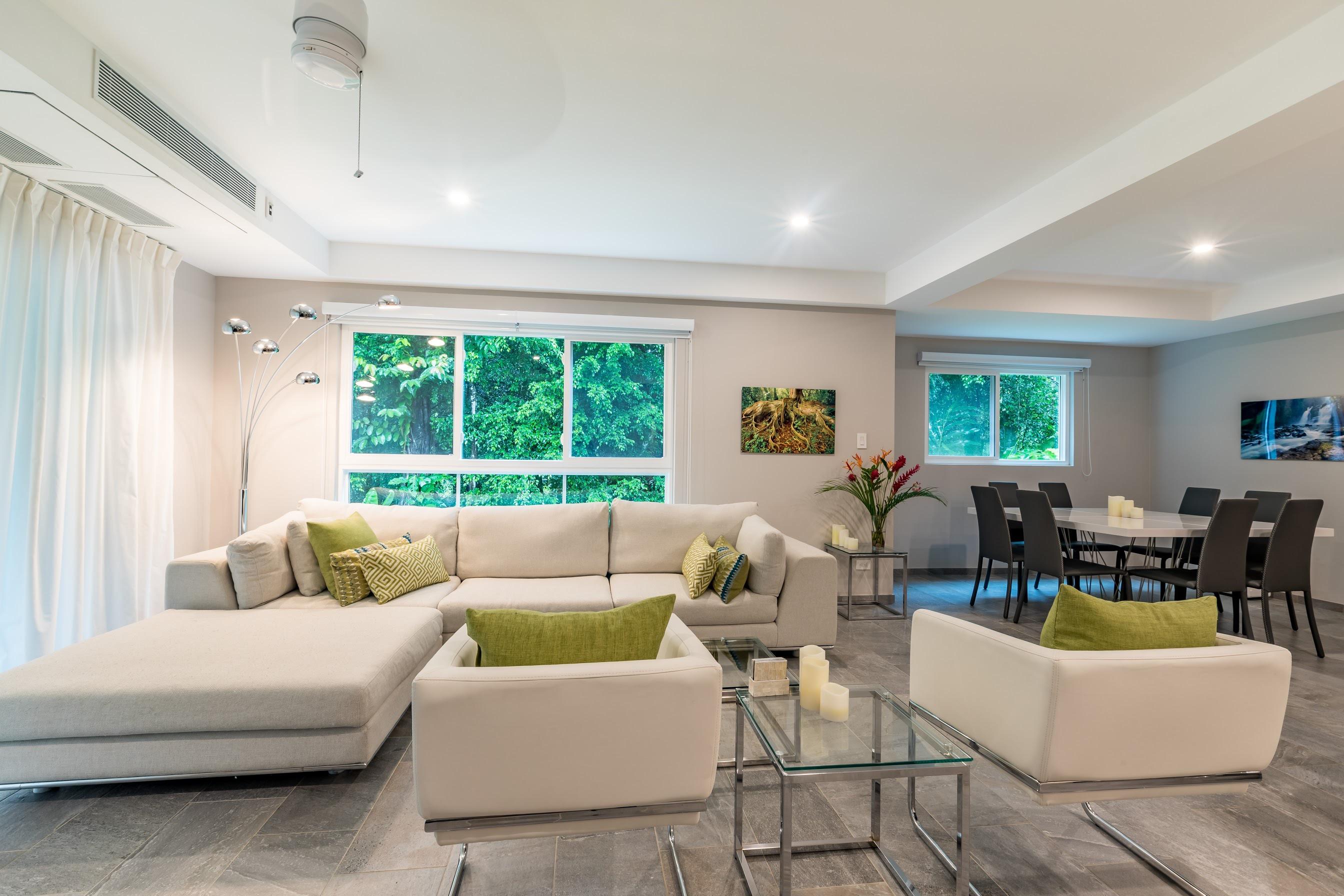 apartment livingroom elan uvita costa rica